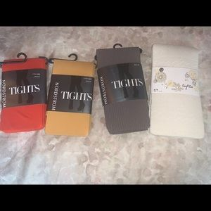 Four pairs of tights!